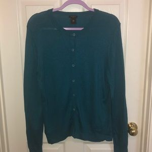 Ann Taylor factory - cardigan with jewel buttons